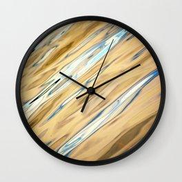 River Waters II Wall Clock