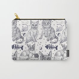 KittyPrint Carry-All Pouch