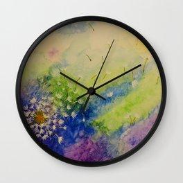Flight Wall Clock