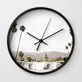 , California Wall Art, Palm Springs Wall Clock