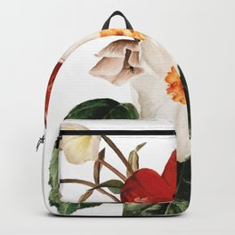 Spring Flowers Bouquet Backpack