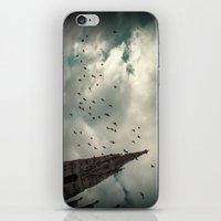 vienna iPhone & iPod Skins featuring Vienna 04 by Mi Nu Ra