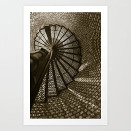 Blinded by the Light. Art Print