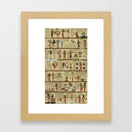 The Origin of Ancient Helixism Framed Art Print