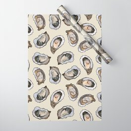 Oysters by the Dozen in Cream Wrapping Paper