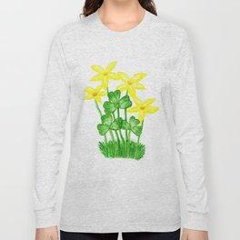 Shamrock Garden Long Sleeve T-shirt