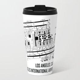 LAX Airport Chart Travel Mug