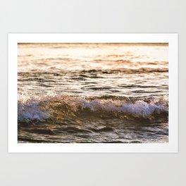 Atlantic Ocean Waves 4182 Art Print