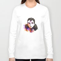 russian Long Sleeve T-shirts featuring The Russian by Herwig Scherabon