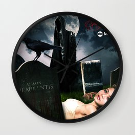 Pretty Little Liars Fantasy Ad Wall Clock