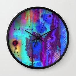 Feather Prayer Wall Clock