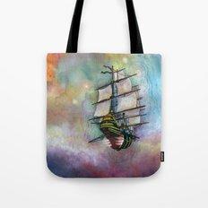 Mike's Tall Ship Tote Bag