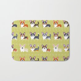 Pembrokes and Cardigans - CORGIS Bath Mat