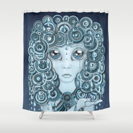 Have You Ever Seen the Rain? Shower Curtain