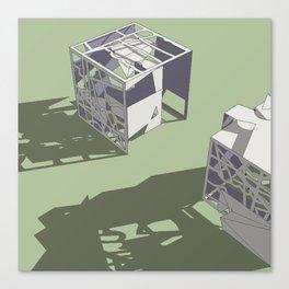 Broken Next 01 Canvas Print
