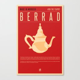 MADE IN MOROCCO #09-THE TEAPOT Canvas Print