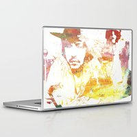 johnny depp Laptop & iPad Skins featuring Johnny Depp by Nechifor Ionut