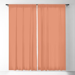 Cheap Solid Dark Pink Salmon Color Blackout Curtain