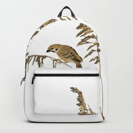 Tall Grass and Sparrows Backpack