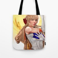 sailor venus Tote Bags featuring Sailor Venus by KlsteeleArt