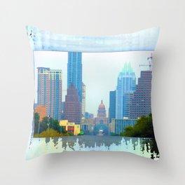 Colorful Austin Throw Pillow
