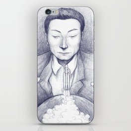 Elon's Falcon Heavy iPhone Skin