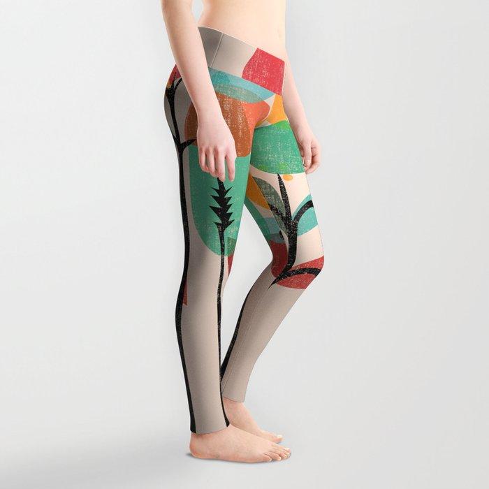 Tropical Groove Leggings