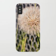 Oversized Puff - Ready to break apart and fly away. Slim Case iPhone X