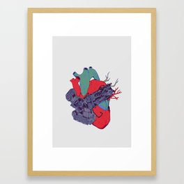 H∃∀RT Framed Art Print