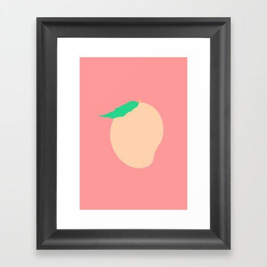 #77 Mango Framed Art Print