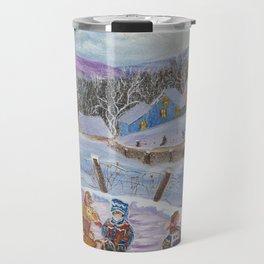 DianeL - plaisirs hiver Travel Mug