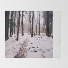 Woods Throw Blanket