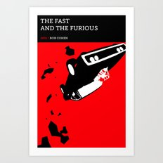 The Fast and the Furious Art Print