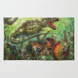 Tyrant Lizard King Rug