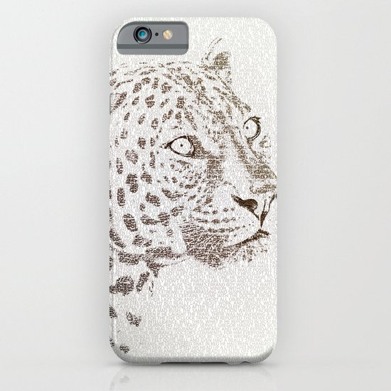 The Intellectual Leopard iPhone & iPod Case