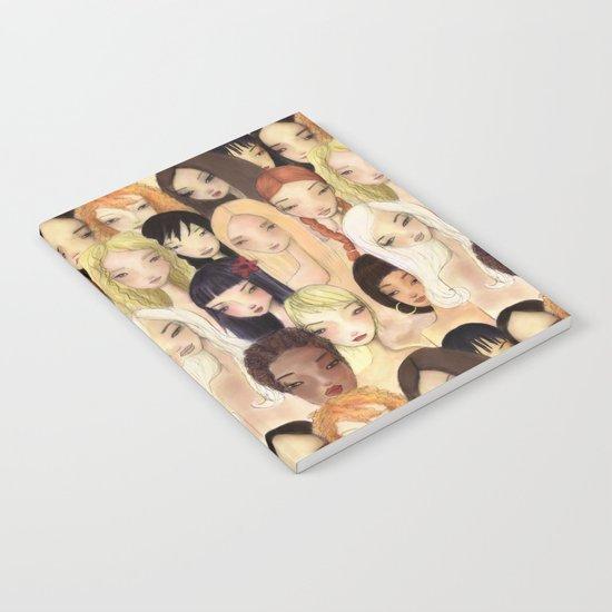 Girlie pattern Notebook