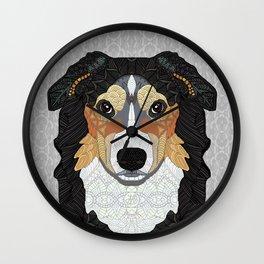 Zeke - mountain dog Wall Clock