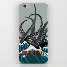 Kraken Rising iPhone Skin