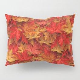 Autumn Case Fall Leaves Pillow Sham