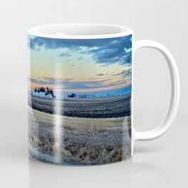 Moonset Over Iowa Coffee Mug