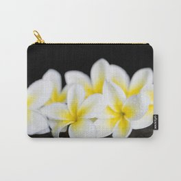 Plumeria obtusa Singapore White Carry-All Pouch