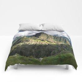 Machu Picchu, Peru Comforters