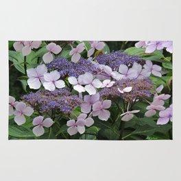 Hydrangea Violet Hues Rug