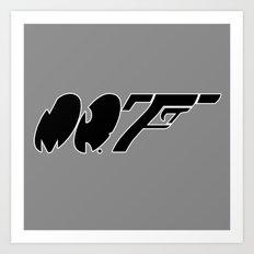 Mr. F Art Print