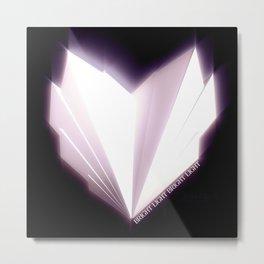 How To Make A Heart Metal Print