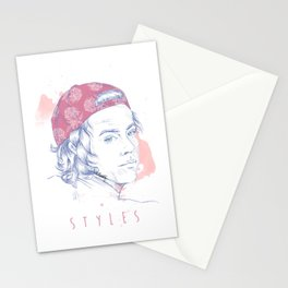 STYLES - Pink floral Hat Stationery Cards