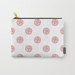 Cute Buttons Carry-All Pouch