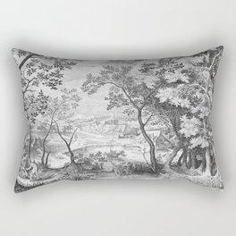 Landscape with Judah and Tamar Rectangular Pillow