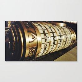 cryptex Canvas Print