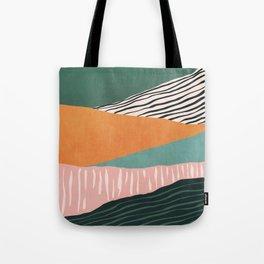 Modern irregular Stripes 02 Tote Bag